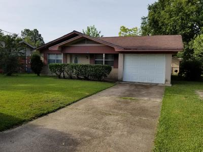 Gulfport Single Family Home For Sale: 3503 Meadowlark Dr