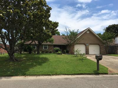 Biloxi Single Family Home For Sale: 2120 Baywood Dr