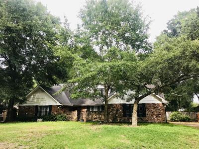 Biloxi Single Family Home For Sale: 432 Melissa Dr