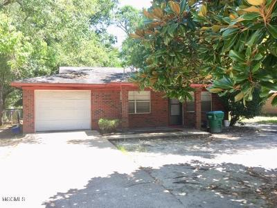 Gulfport Single Family Home For Sale: 1312 22nd St