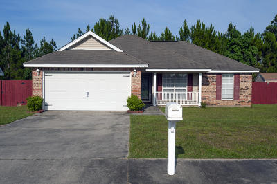 Gulfport Single Family Home For Sale: 11344 Jessica Dr