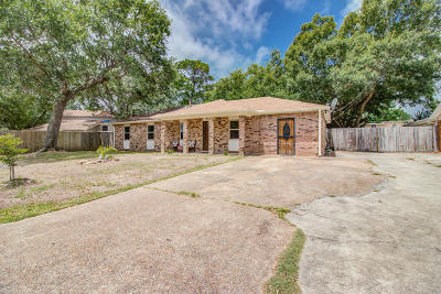 Gulfport MS Single Family Home For Sale: $137,900