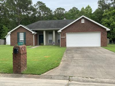 Gulfport MS Single Family Home For Sale: $154,900