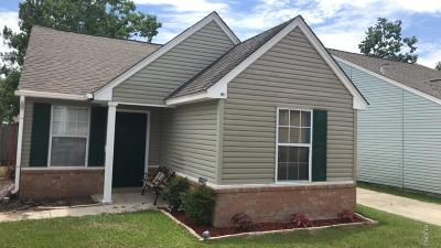 Gulfport Single Family Home For Sale: 10636 Red Bud Ct