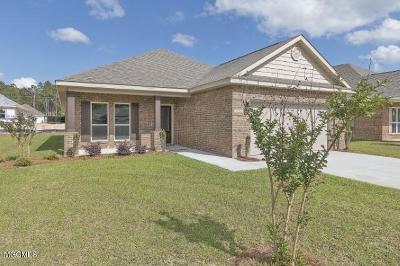 Ocean Springs Single Family Home For Sale: 6876 Sweetclover Ln