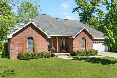 Gulfport Single Family Home For Sale: 15221 Swan Lake Blvd