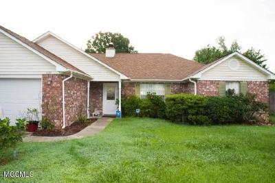 Ocean Springs Single Family Home For Sale: 3220 N 8th St
