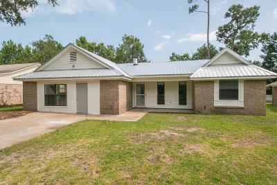 Ocean Springs Single Family Home For Sale: 9217 Barnacle Blvd