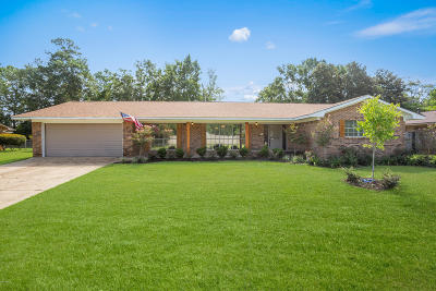 Biloxi Single Family Home For Sale: 742 Cambridge Dr