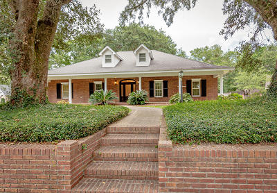 Ocean Springs Single Family Home For Sale: 3831 Chaumont Cir