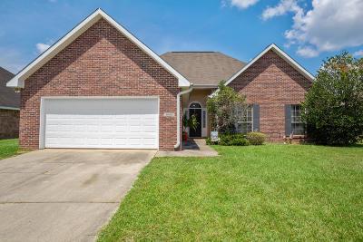 Ocean Springs Single Family Home For Sale: 6212 Rebecca Cv