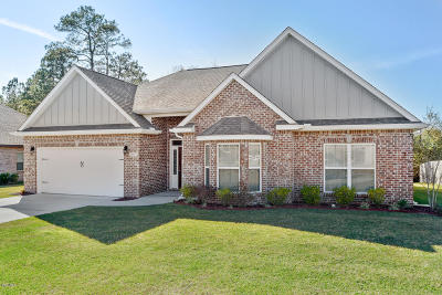 Gulfport Single Family Home For Sale: 20078 Mulligan Cv