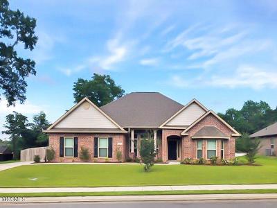 Gulfport Single Family Home For Sale: 15954 Walker Farm Ln