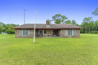 Gulfport Single Family Home For Sale: 11087 Bayou Bernard Rd