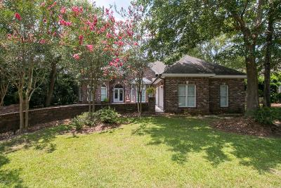 Pass Christian Single Family Home For Sale: 7403 Live Oak Way