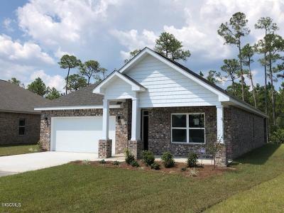 Ocean Springs Single Family Home For Sale: 6872 Sweetclover Dr