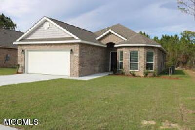 Ocean Springs Single Family Home For Sale: 6884 Sweetclover Dr
