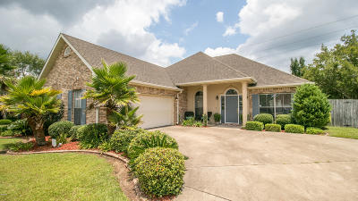 Gulfport Single Family Home For Sale: 15392 Summerfield Dr