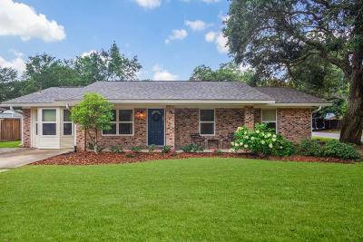Ocean Springs Single Family Home For Sale: 2416 Davidson Rd