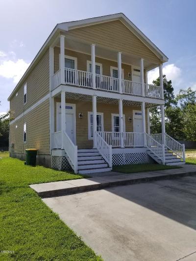 Ocean Springs Multi Family Home For Sale: 2401 Esplanade St #A & B