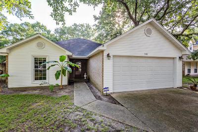 Ocean Springs Single Family Home For Sale: 7108 Oakhurst Dr