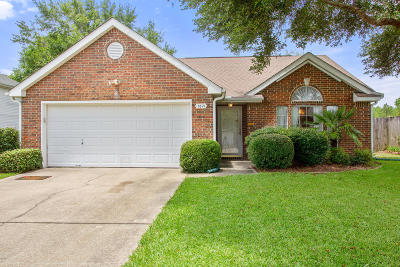 Ocean Springs Single Family Home For Sale: 3621 Reeves Ln
