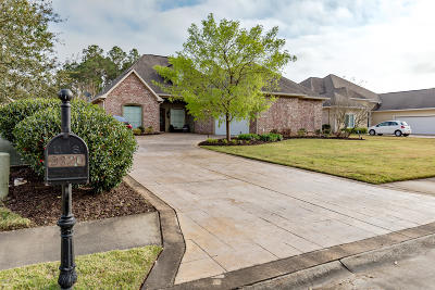 Ocean Springs Single Family Home For Sale: 9320 Alcove Ln