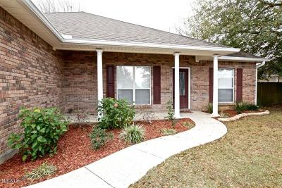 Ocean Springs Single Family Home For Sale: 7703 W Falcon Cir