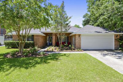 Ocean Springs Single Family Home For Sale: 1229 Monticello Blvd