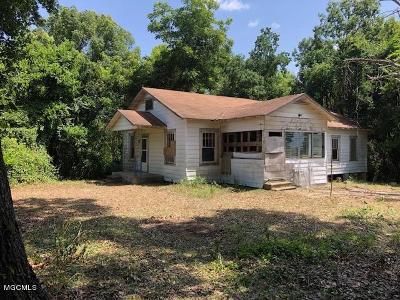 Gulfport Single Family Home For Sale: 512 26th 1/2 St