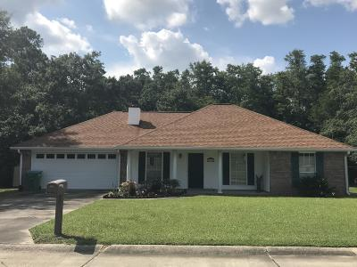 Gulfport Single Family Home For Sale: 15100 Barbara Dr