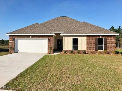 Ocean Springs Single Family Home For Sale: 1274 Tarragon Pl