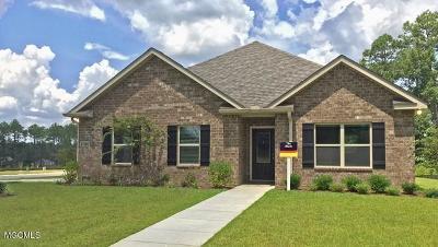 Ocean Springs Single Family Home For Sale: 1270 Tarragin Pl