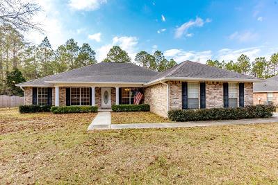 Ocean Springs Single Family Home For Sale: 10707 Jordan Rd