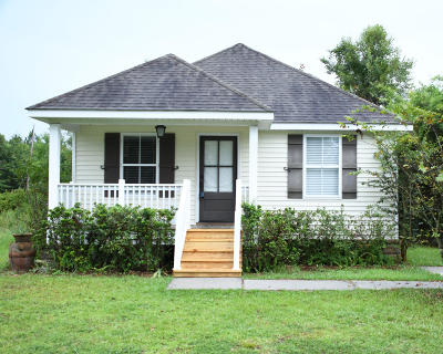 Waveland Single Family Home For Sale: 205 Jeff Davis Ave