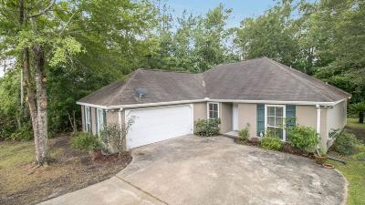 Diamondhead Single Family Home For Sale: 7315 Amoka Dr