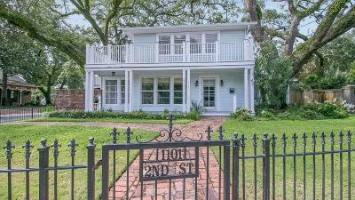 Gulfport Single Family Home For Sale: 1101 2nd St
