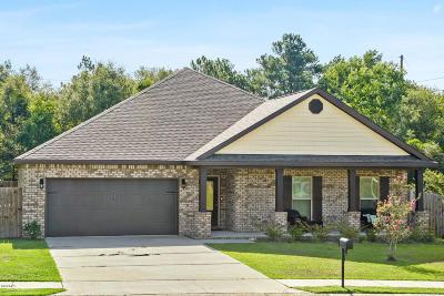 Gulfport Single Family Home For Sale: 15836 Walker Farm Ln