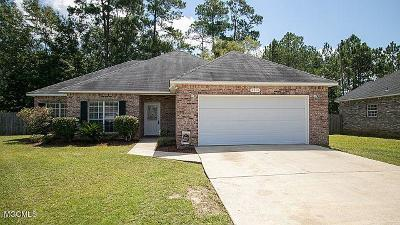 Ocean Springs Single Family Home For Sale: 6316 Guice Pl