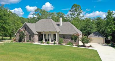 Saucier Single Family Home For Sale: 11749 Honey Bear Ln