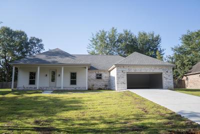 Diamondhead Single Family Home For Sale: 6410 Apelehama Cir