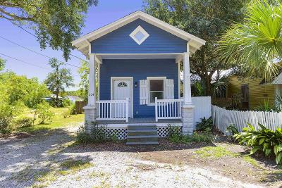 Bay St. Louis Single Family Home For Sale: 224 Sycamore St