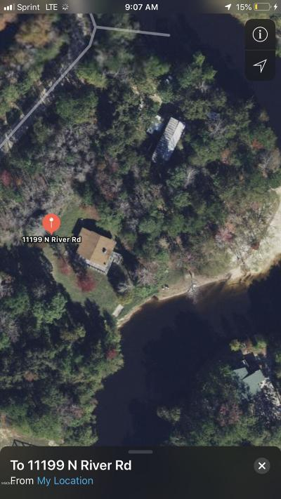 Gulfport Single Family Home For Sale: 11199 N River Rd