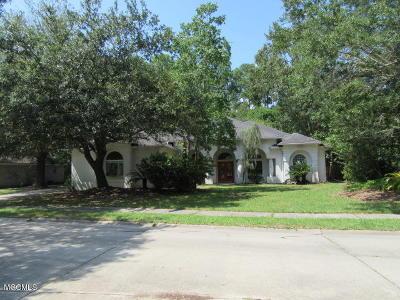 Ocean Springs Single Family Home For Sale: 3412 Dijon Ave