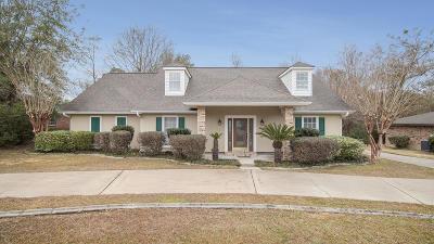 Diamondhead Single Family Home For Sale: 87129 Golf Club Dr