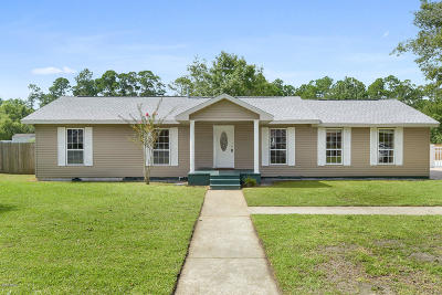 Waveland Single Family Home For Sale: 245 Trout St