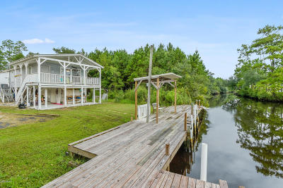 Bay St. Louis Single Family Home For Sale: 9144 Bayou Dr
