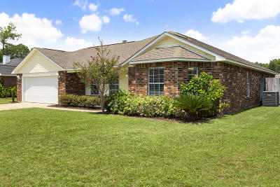 Ocean Springs Single Family Home For Sale: 8724 Marina Ave