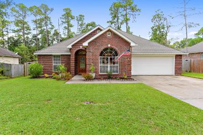Diamondhead Single Family Home For Sale: 84578 N Diamondhead Dr