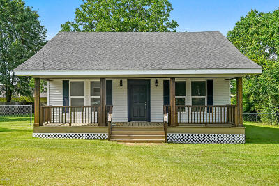 Gulfport Single Family Home For Sale: 16470 Ms-53